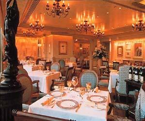 elegantní restaurace o 120 místech